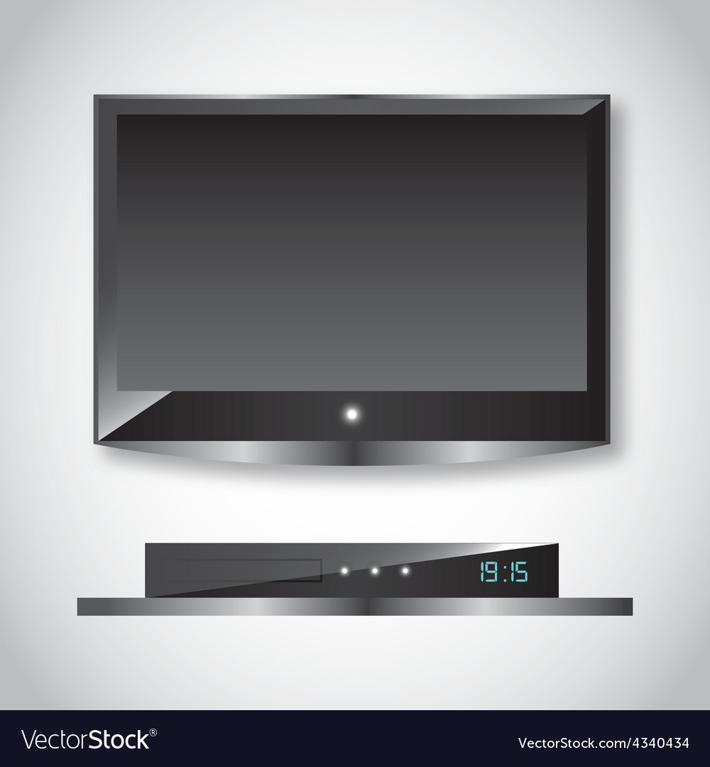 Television screen vector | Price: 1 Credit (USD $1)