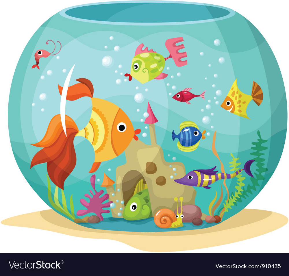 Aquarium vector | Price: 3 Credit (USD $3)