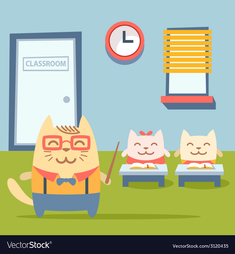 Character teacher in a business suit with vector | Price: 1 Credit (USD $1)