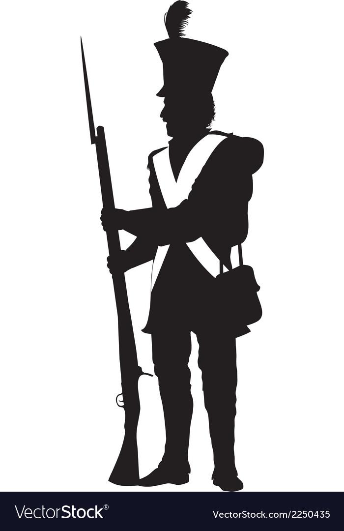 Vintage soldier warriors theme vector | Price: 1 Credit (USD $1)