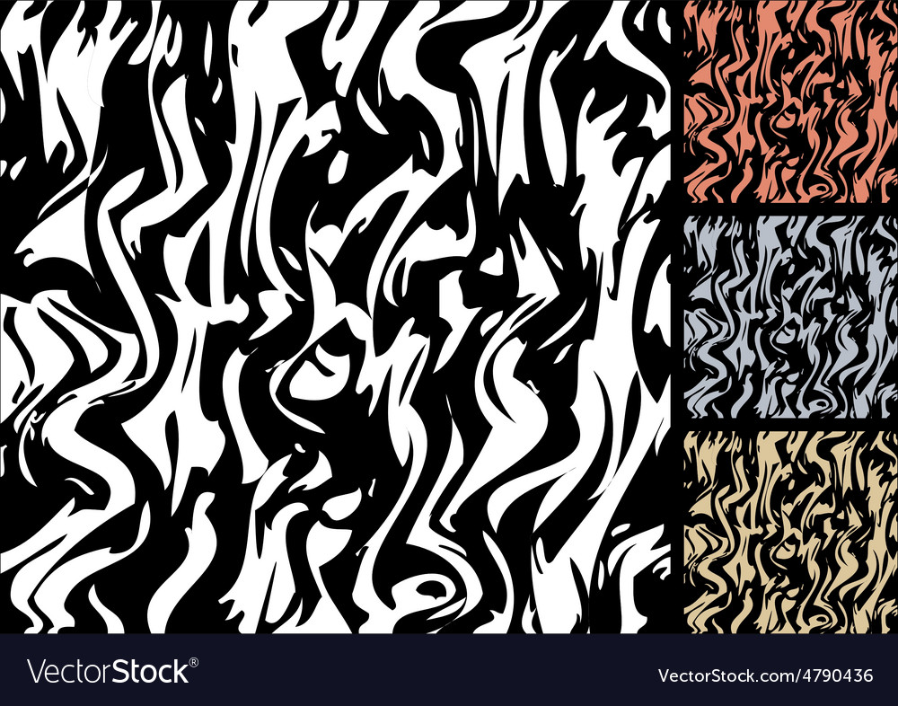 Colored zebra stripes vector | Price: 1 Credit (USD $1)