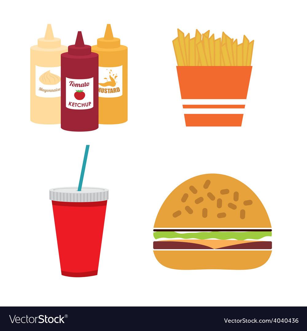 Food design vector | Price: 1 Credit (USD $1)