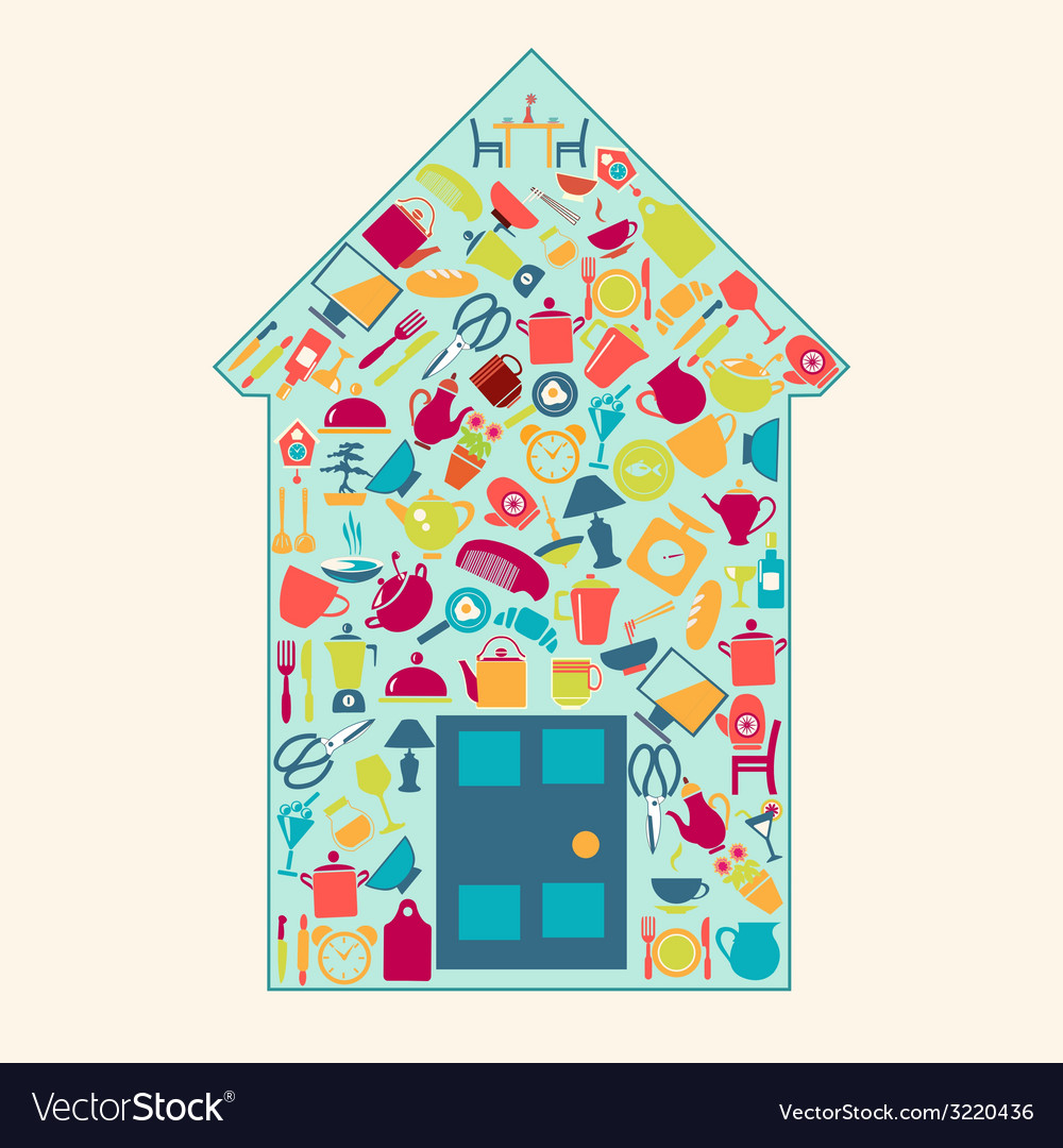 Home-related-icons-2 vector | Price: 1 Credit (USD $1)