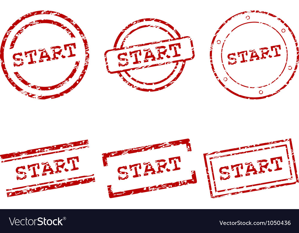 Start stamps vector | Price: 1 Credit (USD $1)