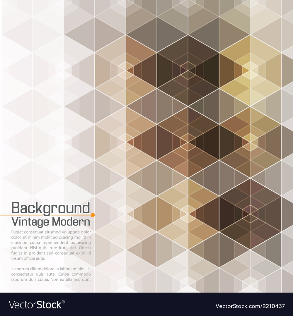 Abstract vintage modern premium hexadecagon vector | Price: 1 Credit (USD $1)