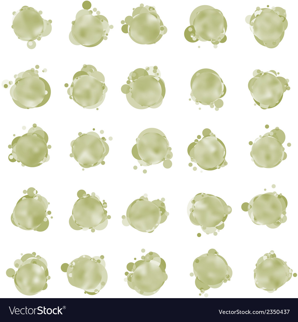 Bubbles for speech eps 8 vector | Price: 1 Credit (USD $1)