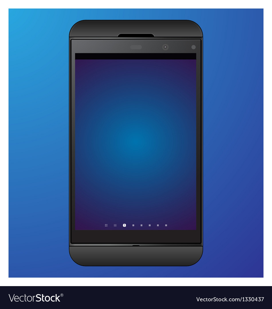 Mobile phone 10 vector | Price: 1 Credit (USD $1)