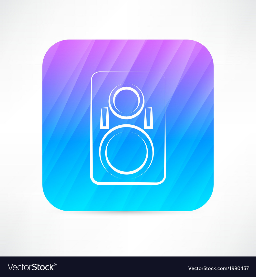 Music column icon vector | Price: 1 Credit (USD $1)