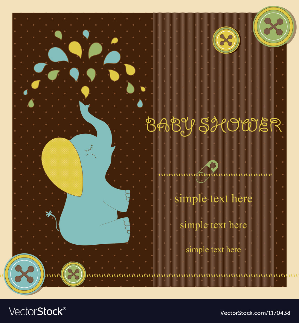 Baby shower - boy vector | Price: 1 Credit (USD $1)