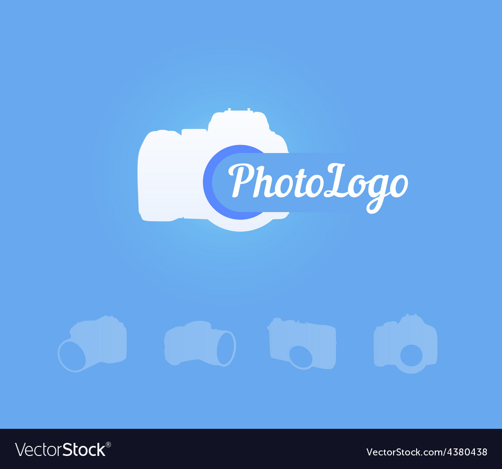 Photocamera logotype vector | Price: 1 Credit (USD $1)