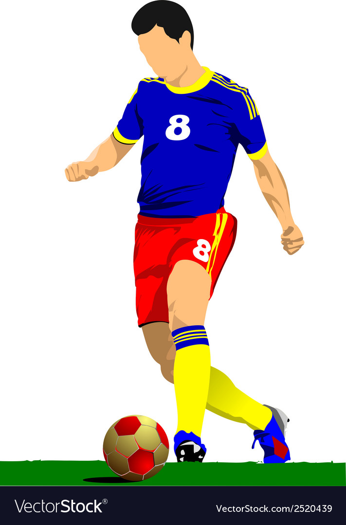 Al 0919 soccer01 vector | Price: 1 Credit (USD $1)