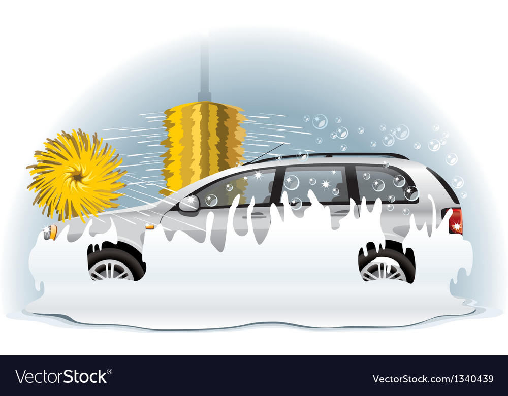 Car wash vector | Price: 3 Credit (USD $3)