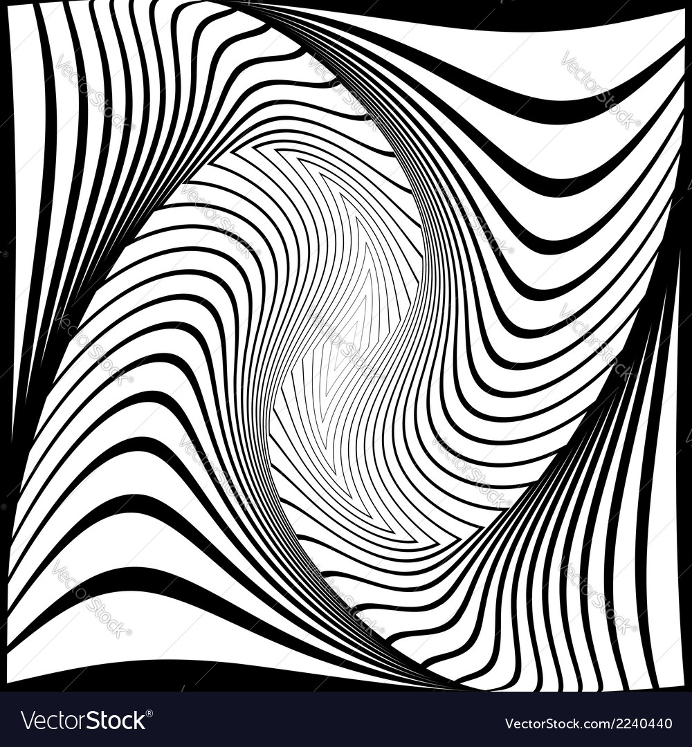 Design monochrome vortex movement background vector | Price: 1 Credit (USD $1)