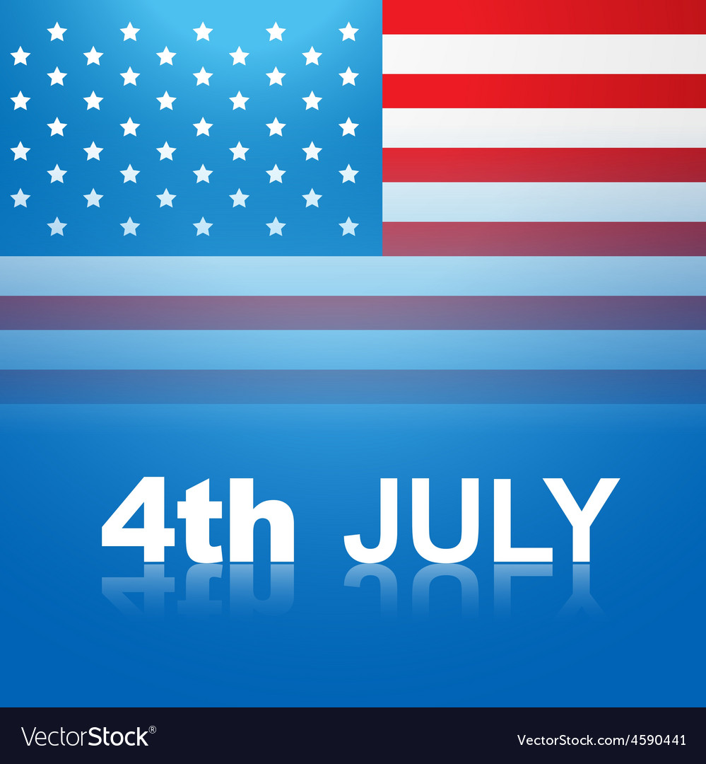 July 4th america vector | Price: 1 Credit (USD $1)