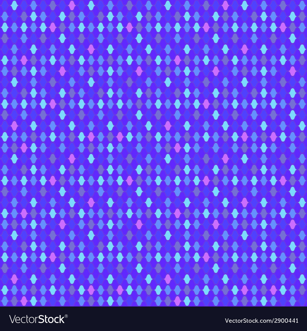 Mosaic glowing ligts violet seamless background vector | Price: 1 Credit (USD $1)