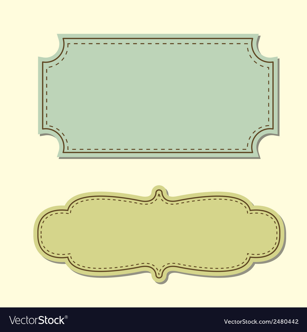 Vintage tag background vector | Price: 1 Credit (USD $1)