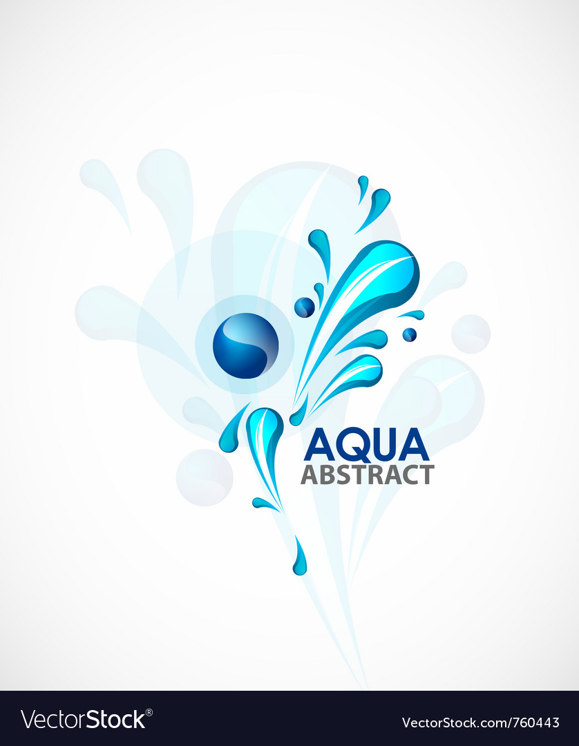 Aqua background vector | Price: 1 Credit (USD $1)