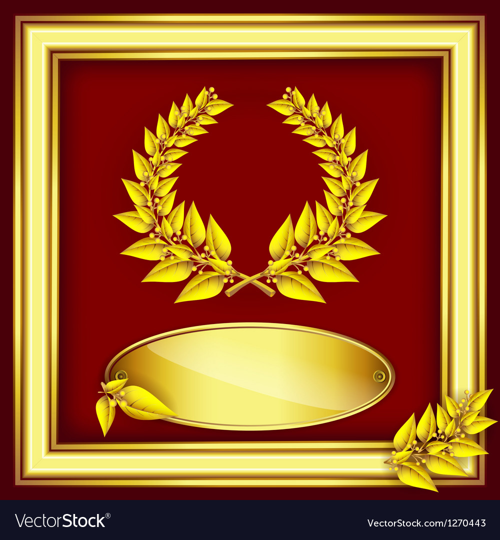 Award or jubilee certificate vector | Price: 1 Credit (USD $1)