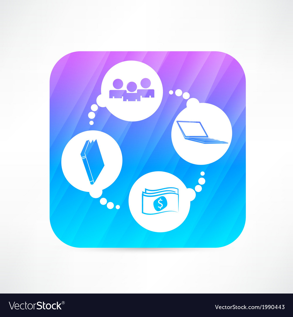 Education and business icon vector | Price: 1 Credit (USD $1)
