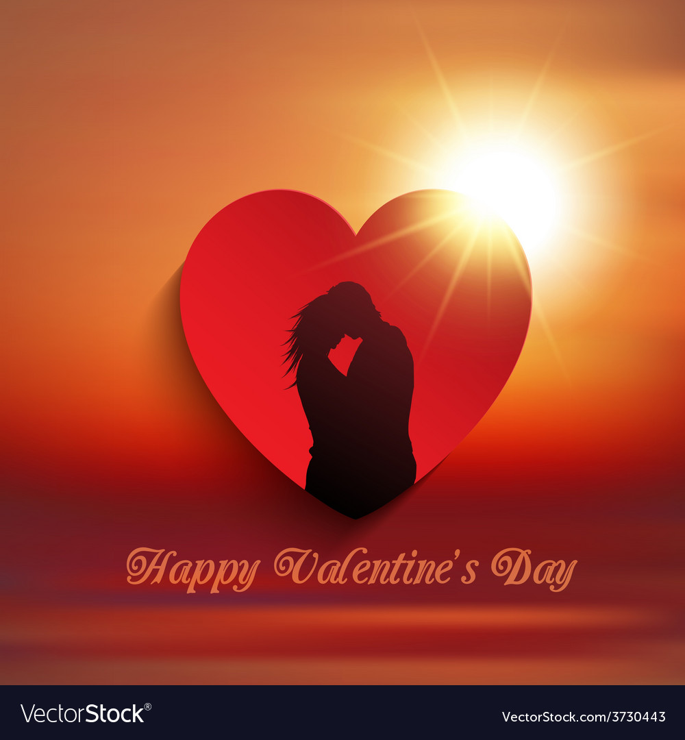 Valentines day couple background 0601 vector | Price: 1 Credit (USD $1)