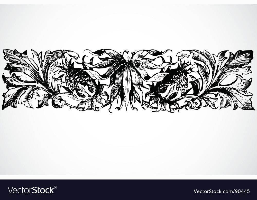 Border ornament vector | Price: 1 Credit (USD $1)