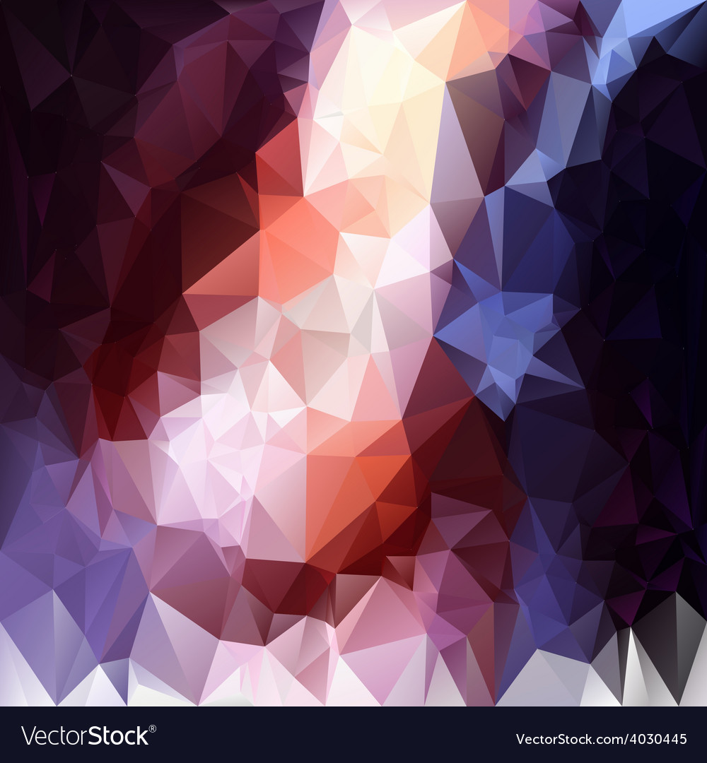Contrast black blue violet polygonal triangular vector | Price: 1 Credit (USD $1)