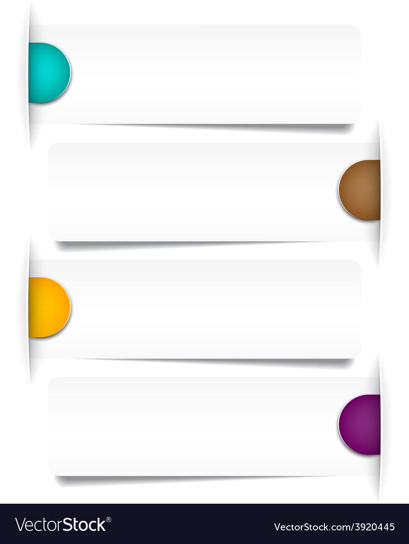 Infographics paper design vector | Price: 1 Credit (USD $1)