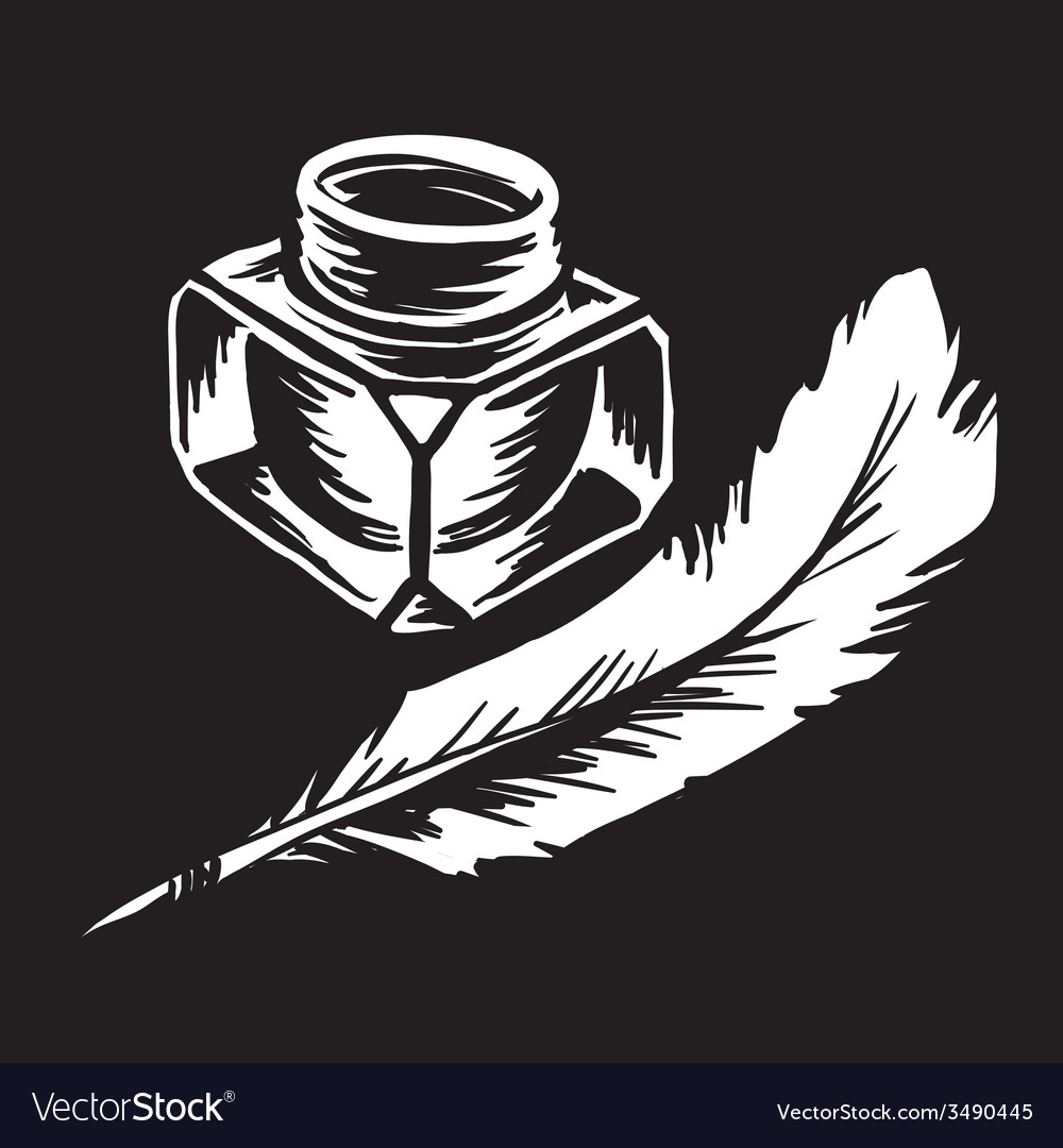 Inkwell vector | Price: 1 Credit (USD $1)