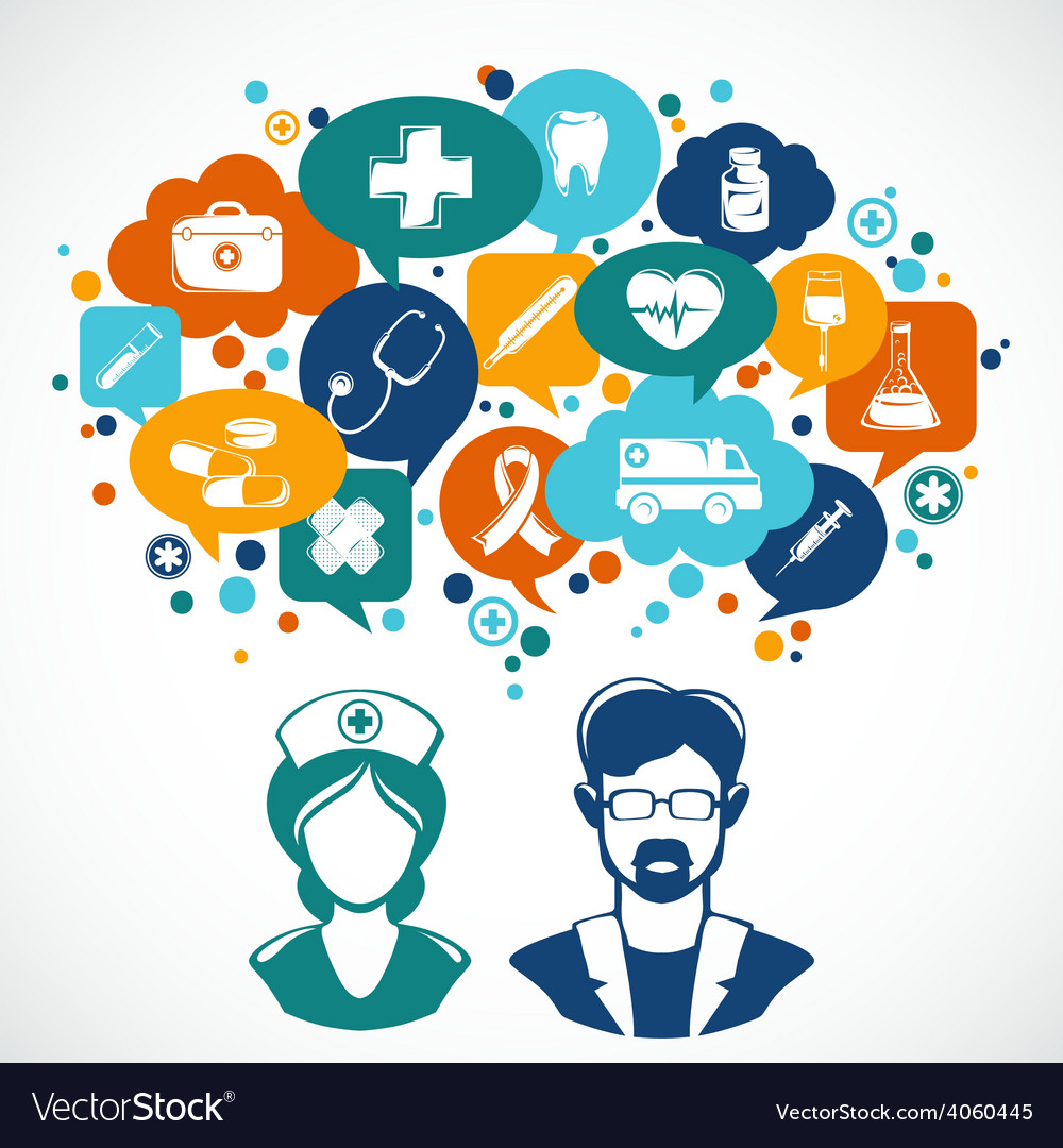 Medicine concept vector | Price: 1 Credit (USD $1)