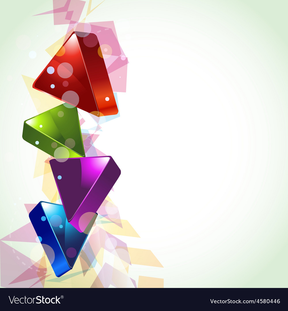 3d looking abstract design vector | Price: 1 Credit (USD $1)