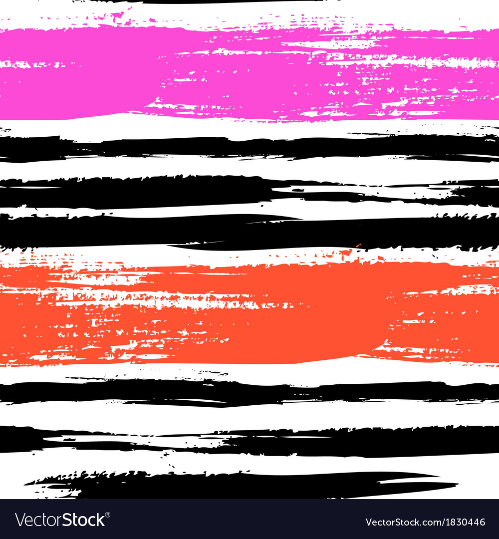 Multicolor striped pattern with brushed lines vector | Price: 1 Credit (USD $1)