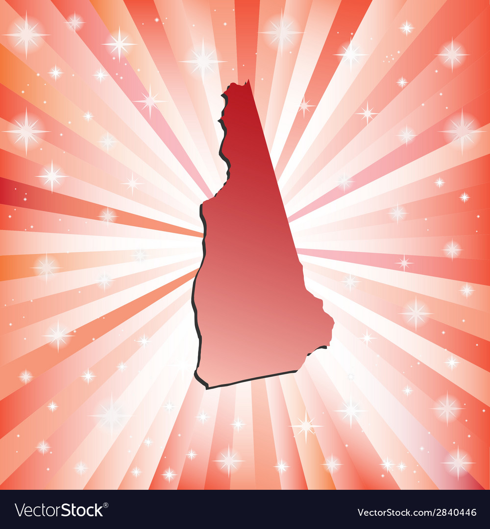 Red new hampshire vector | Price: 1 Credit (USD $1)