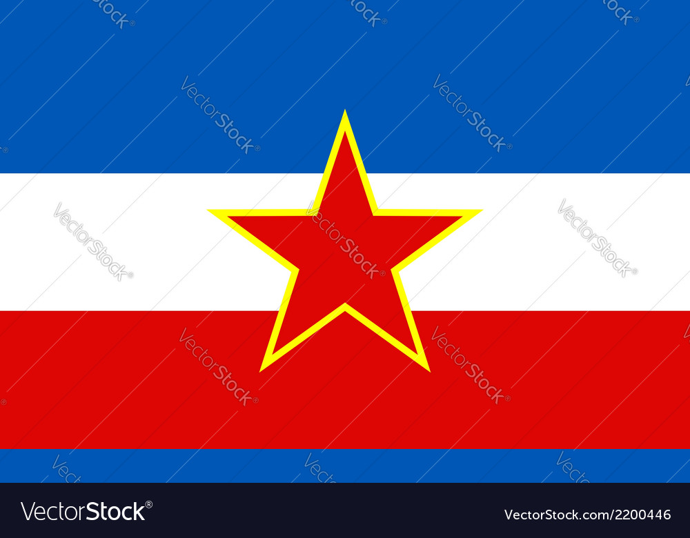 Yugoslavia vector | Price: 1 Credit (USD $1)