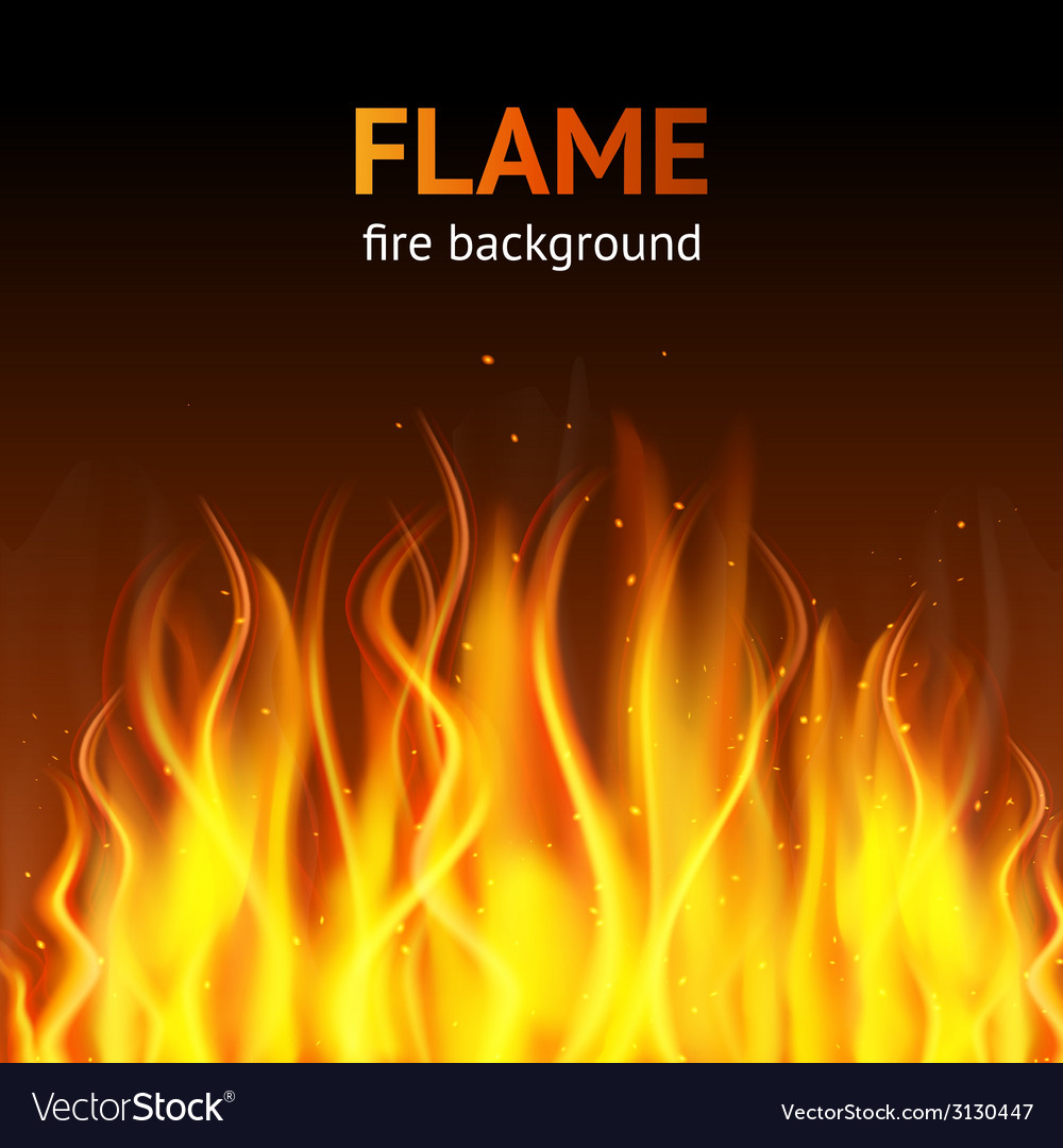 Flame dark background vector   Price: 1 Credit (USD $1)