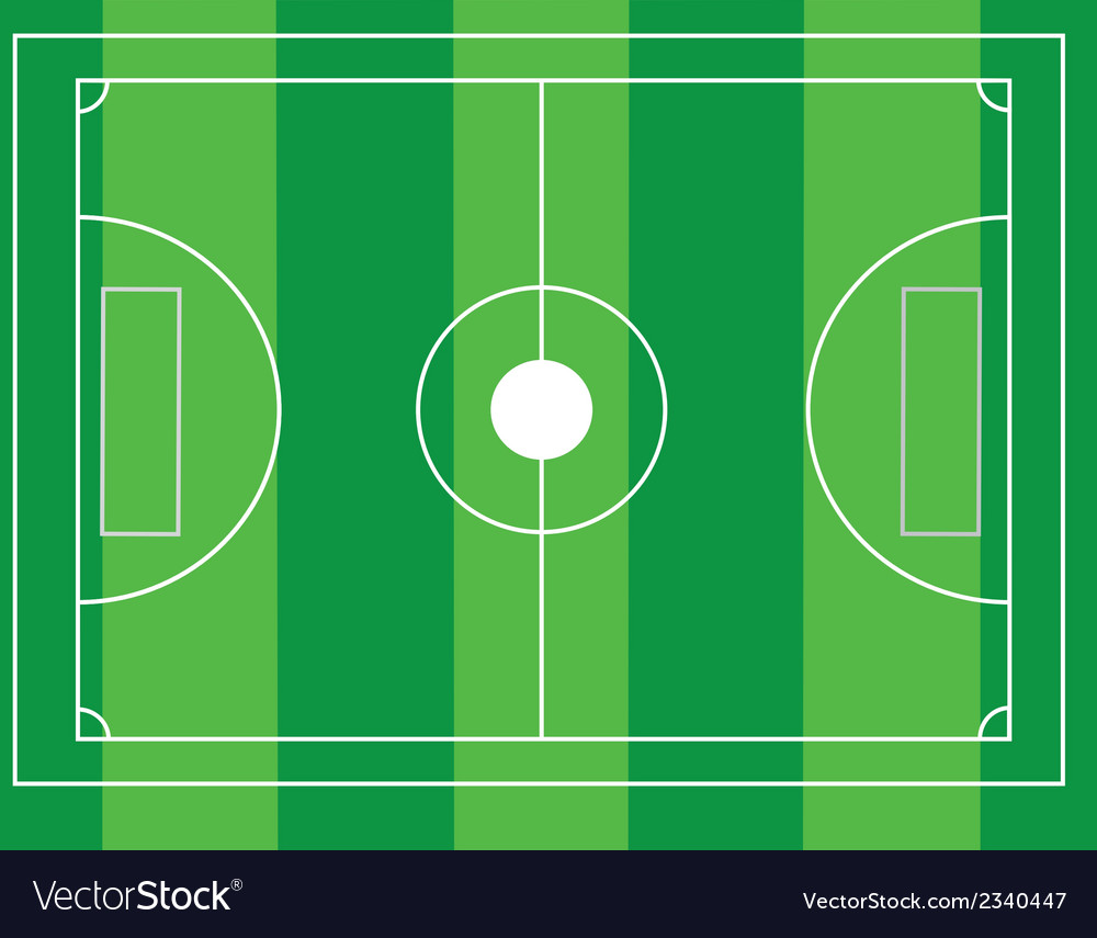 Football ground vector | Price: 1 Credit (USD $1)