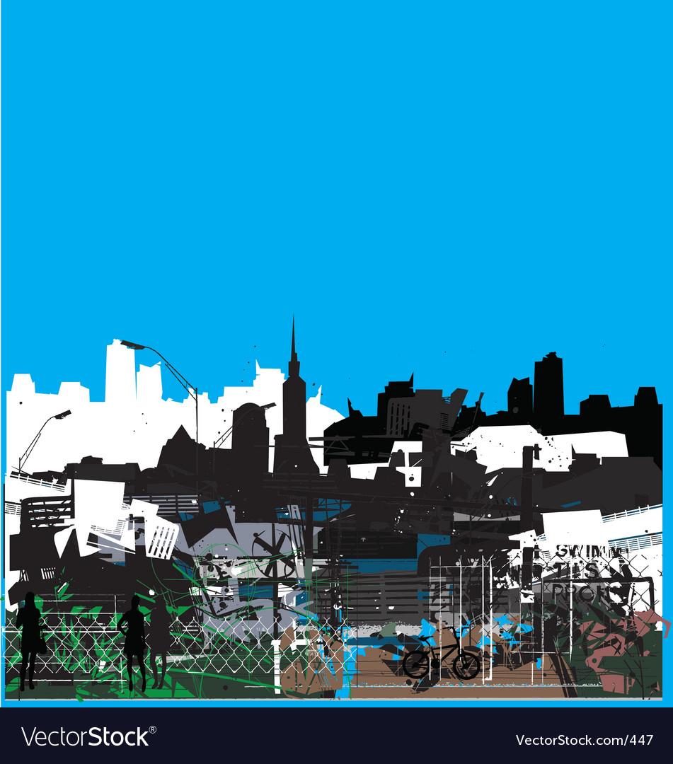 Urban jungle vector | Price: 1 Credit (USD $1)