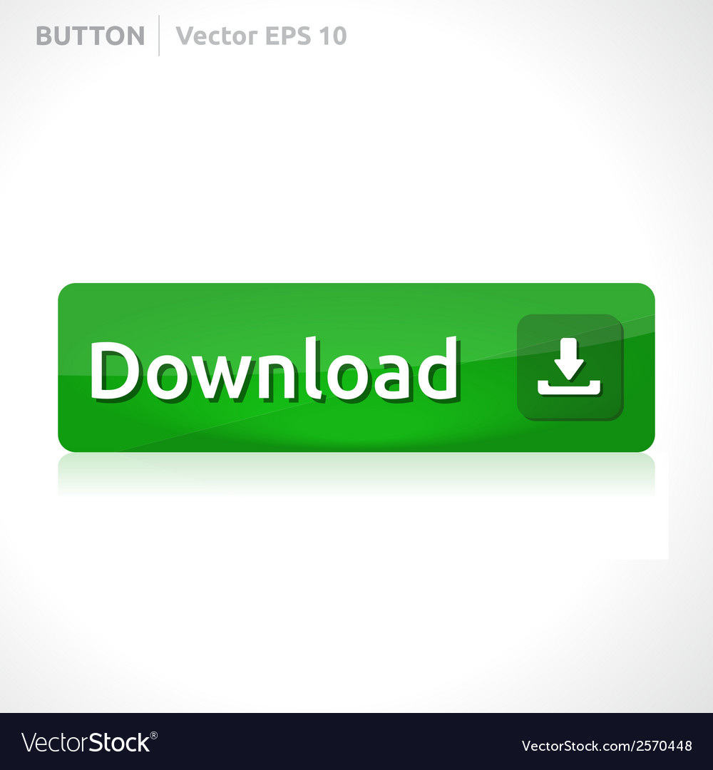 Download button template vector | Price: 1 Credit (USD $1)