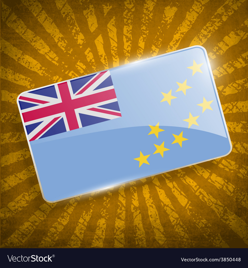 Flag of tuvalu with old texture vector   Price: 1 Credit (USD $1)