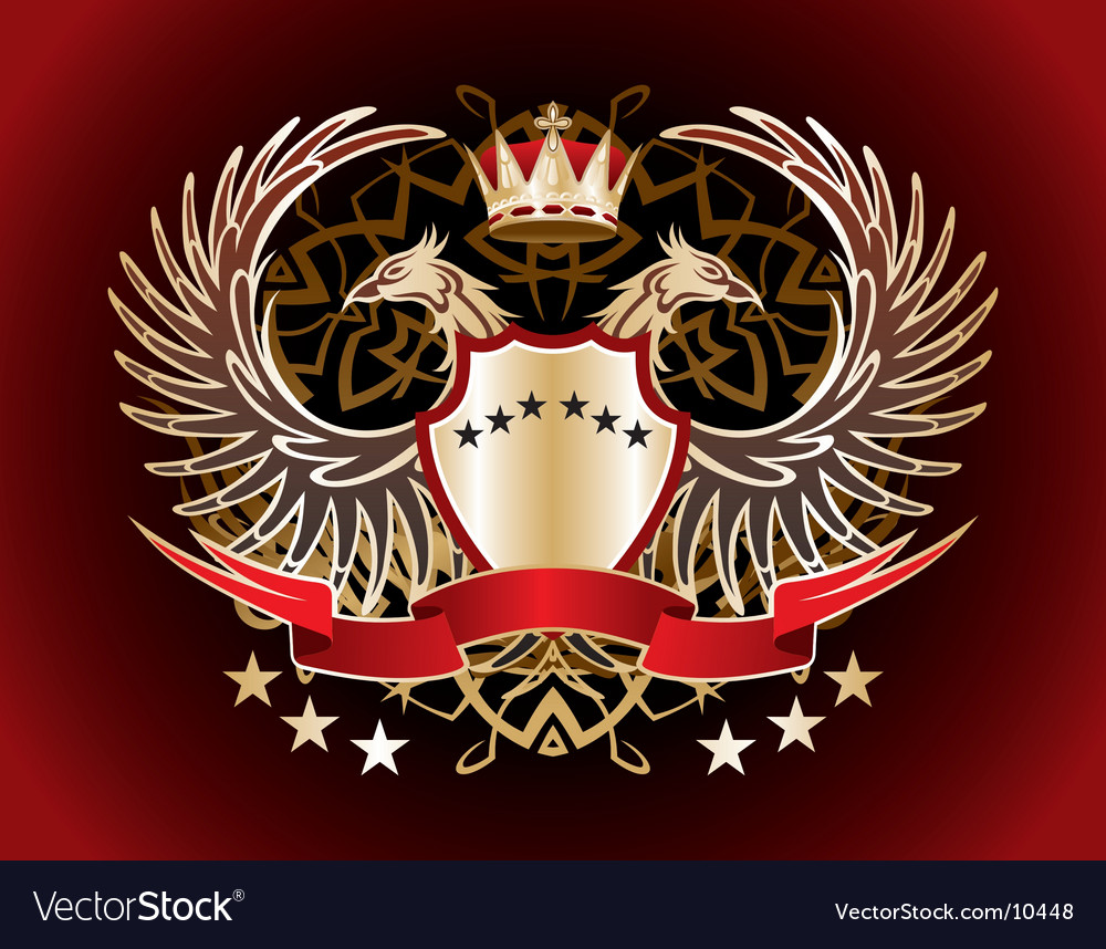 Heraldic sign vector | Price: 1 Credit (USD $1)