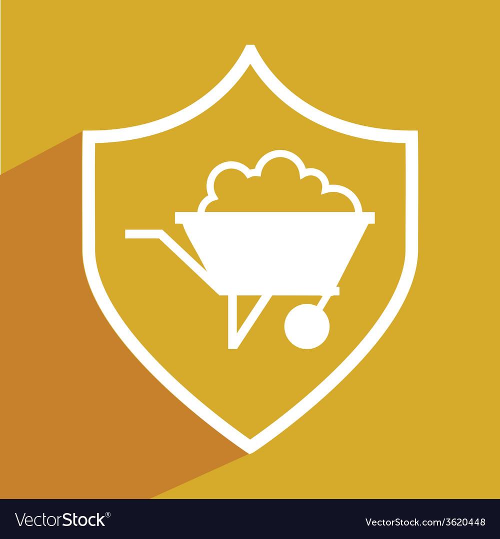 Mining icon vector   Price: 1 Credit (USD $1)