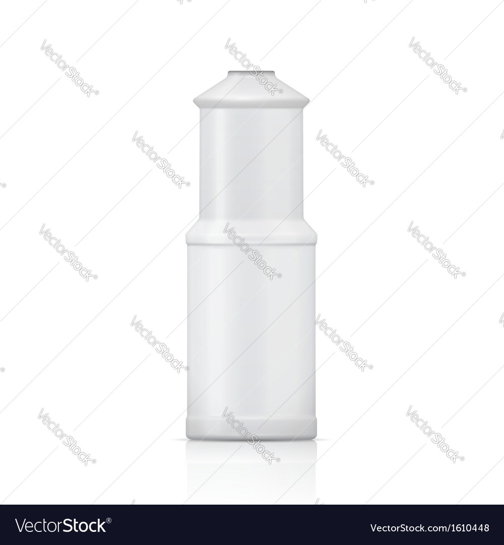 White bleach bottle vector | Price: 1 Credit (USD $1)