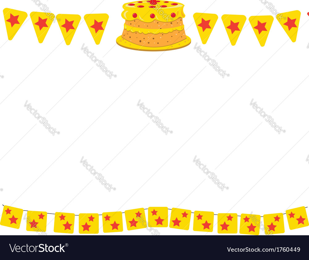Birthday frame vector | Price: 1 Credit (USD $1)