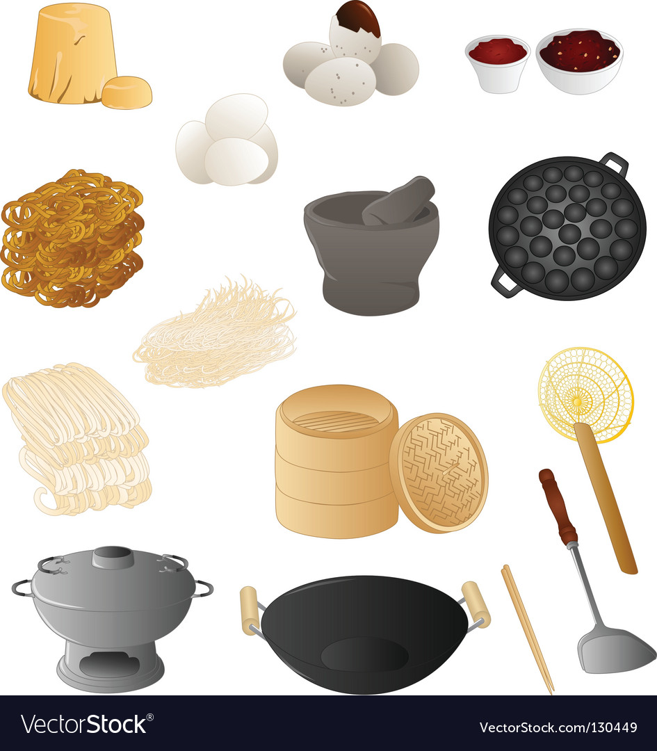 Thai cooking vector | Price: 1 Credit (USD $1)