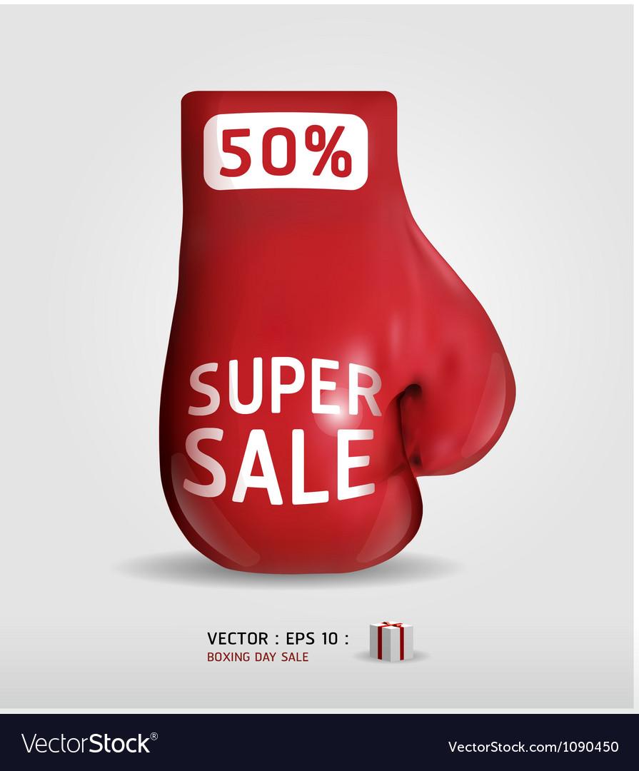 Boxing day shopping creative sale idea vector   Price: 1 Credit (USD $1)