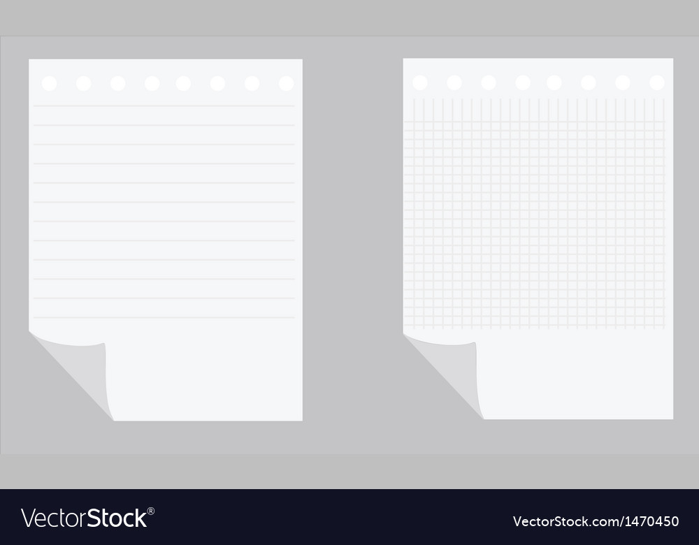 Empty paper sheets vector   Price: 1 Credit (USD $1)