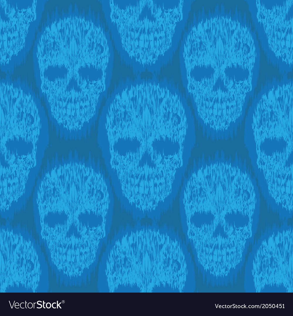 Blue file skull pattern vector | Price: 1 Credit (USD $1)