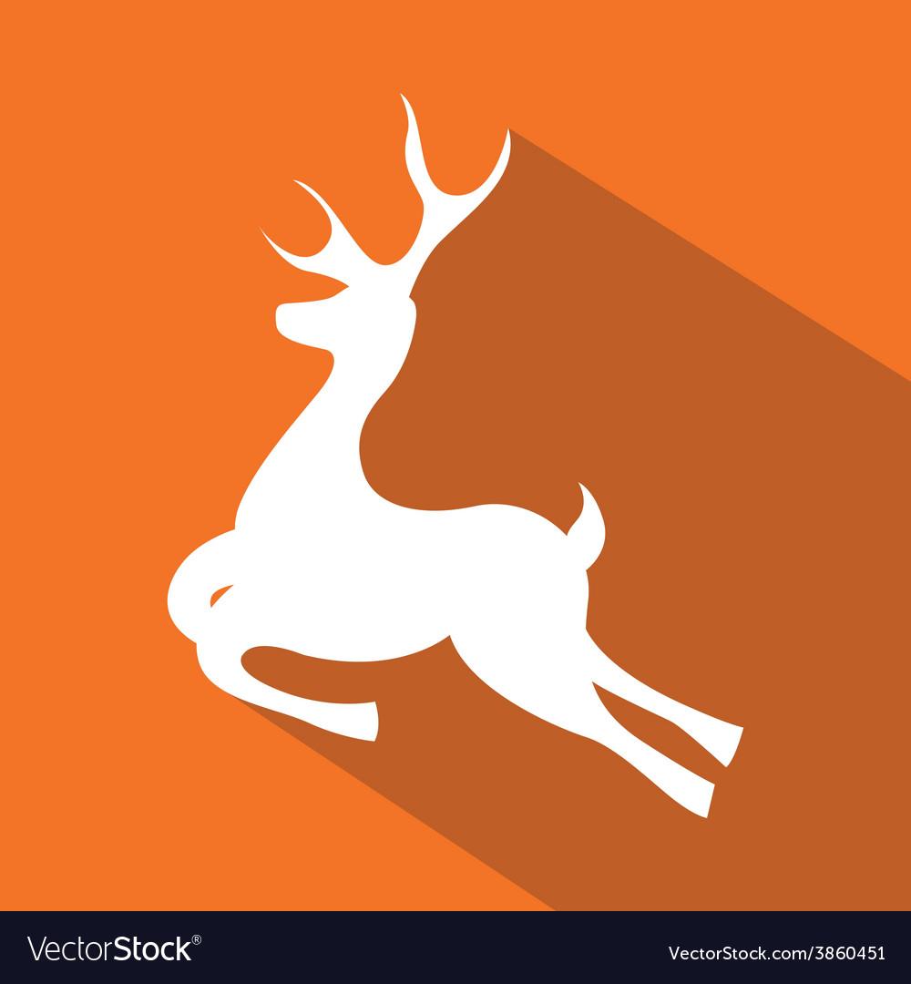 Deer icon vector   Price: 1 Credit (USD $1)
