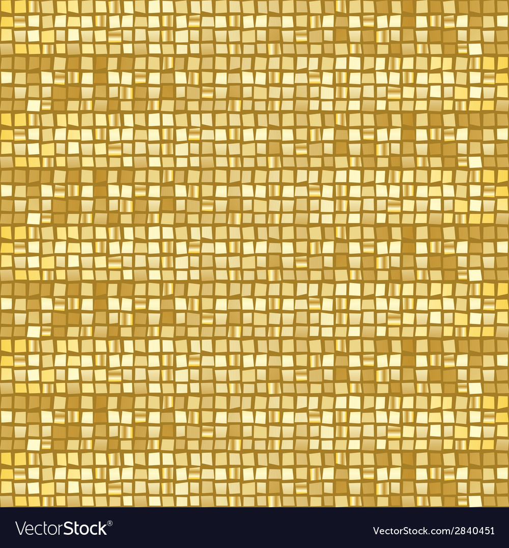 Gold mosaic vector | Price: 1 Credit (USD $1)