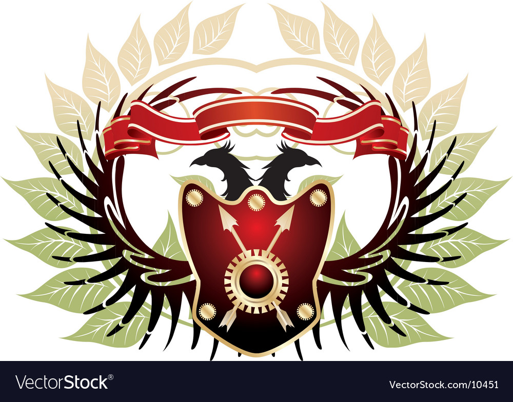 Old heraldic vector | Price: 1 Credit (USD $1)