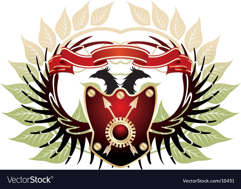 Old heraldic vector | Price: 1 Credit (USD $1)